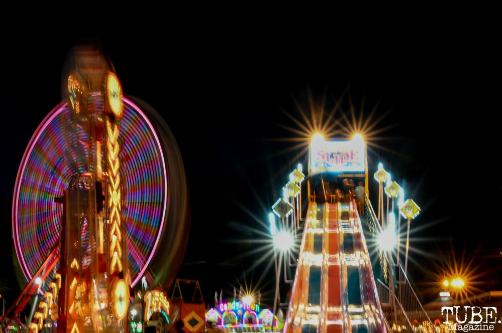 Super Slide, California State Fair, Cal Expo, Sacramento, CA, July 13, 2018 Photo by Daniel Tyree