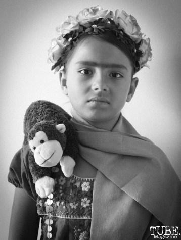 Karyn Mondragon as Frida Kahlo at Festival de Frida, Sacramento, CA, July 8, 2018, Photo by Daniel Tyree