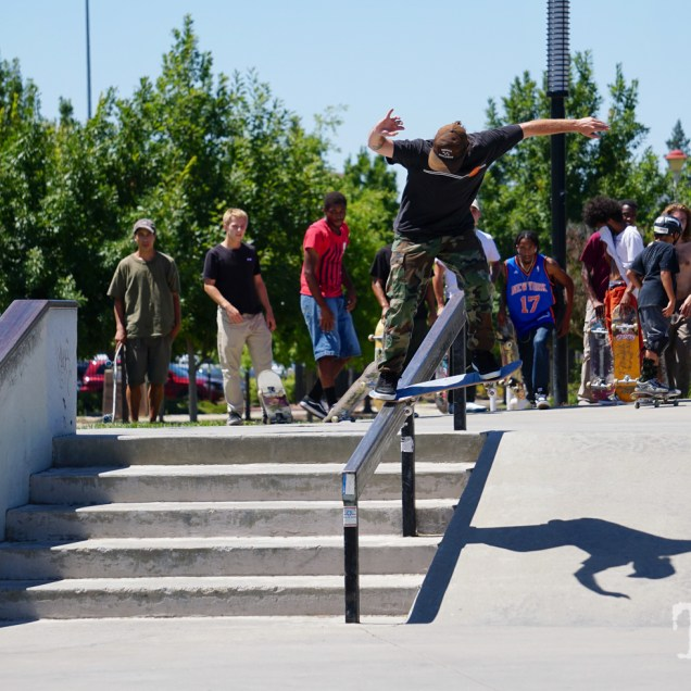 Matt Beaton skating at the Mather AM Sacramento CA. June 2018. Photo Joey Miller