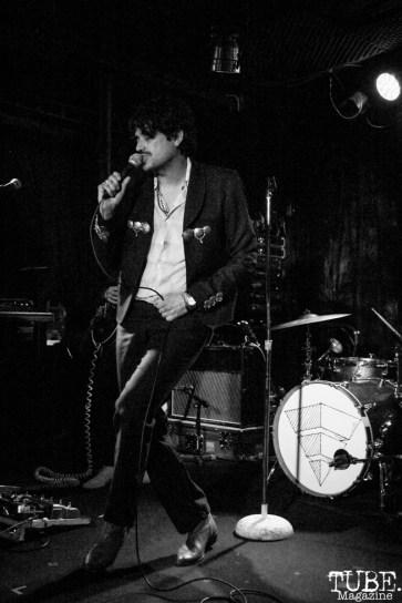 Lead Vocalist Octavio Genera of The Soft White Sixties, Harlow's Restaurant and Nightclub, Sacramento, CA. September 18th, 2018. Photo Anouk Nexus
