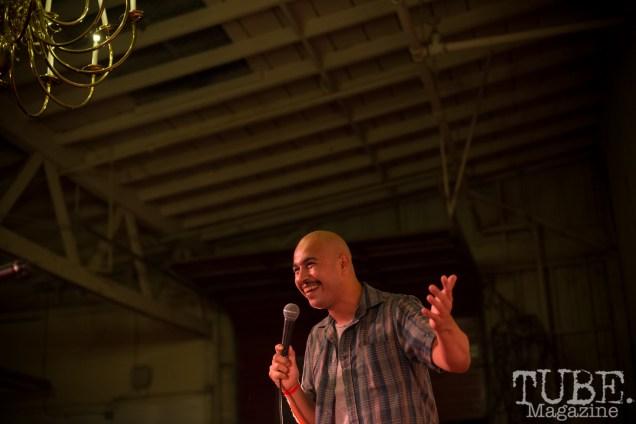 Comedian Alfonso Portela, Red Ex ll, Red Museum, Sacramento CA. September 22, 2018. Photo Melissa Uroff