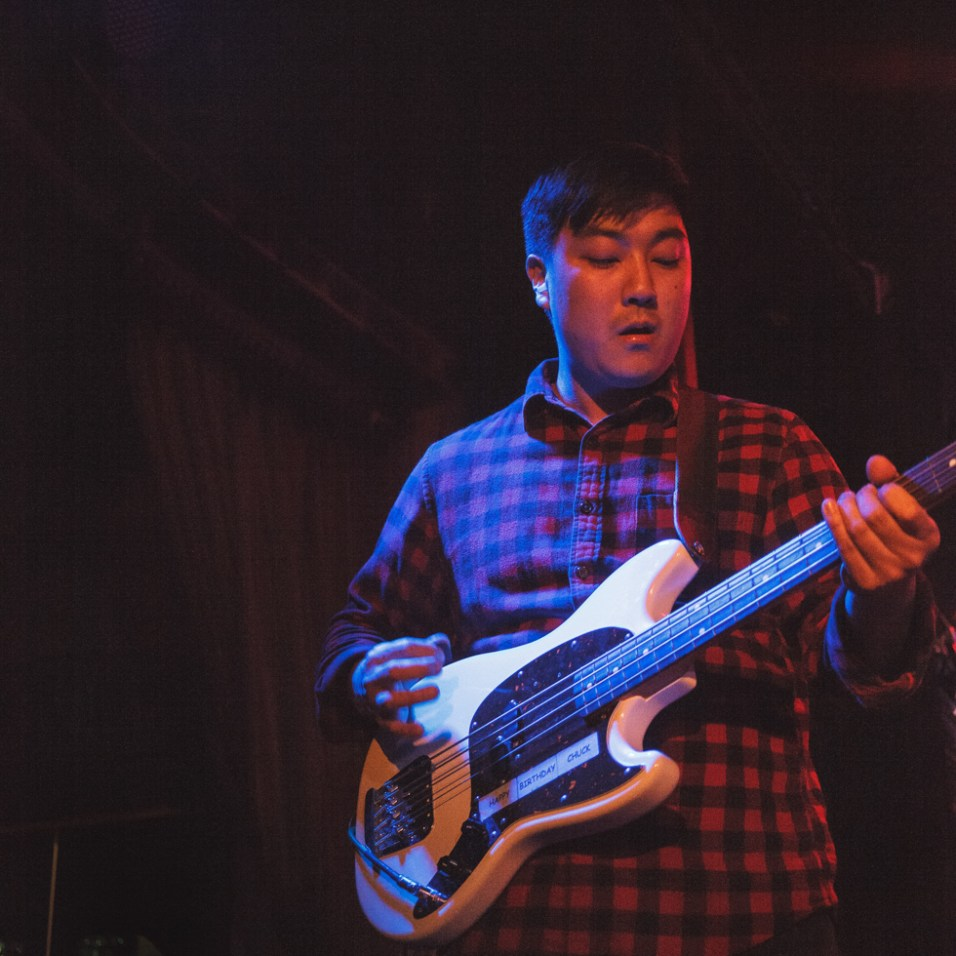 Stanley Kim of Cumulus performing at Harlows in Sacramento, CA (8/28/2018). Photo Cam Evans