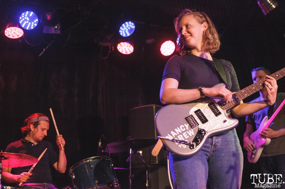 Kerry Alexander of Bad Bad Hats performing at Harlows in Sacramento, CA (8/28/2018). Photo Cam Evans