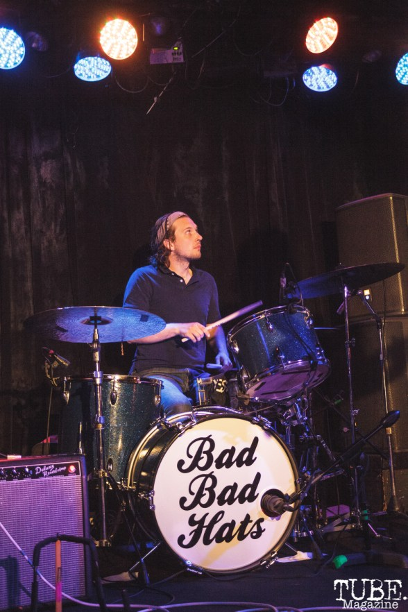 Bad Bad Hats performing at Harlows in Sacramento, CA (8/28/2018). Photo Cam Evans