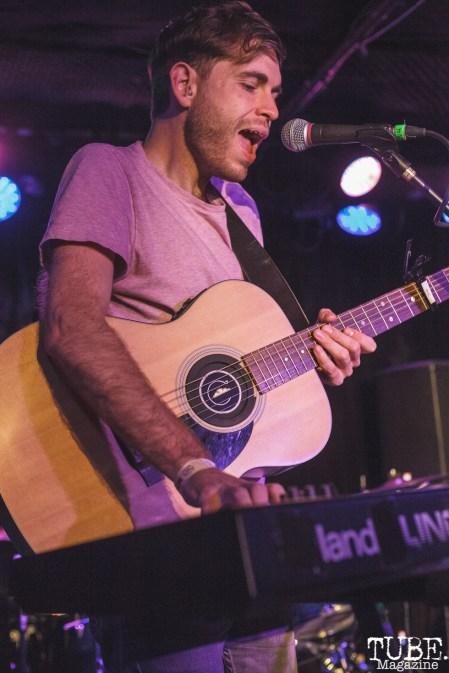William Cremin of Cumulus performing at Harlows in Sacramento, CA (8/28/2018). Photo Cam Evans