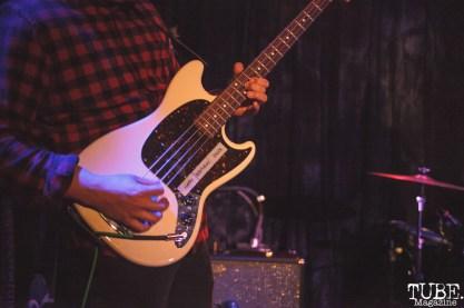 Stanley Kim of Cumulus performing at Harlows in Sacramento, CA (8/28/2018). Photo Cam Evans
