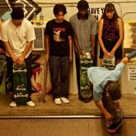 Boulevard Skate Shop Art Show September 22, 2018, Sacramento CA.