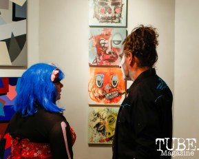 The work of Gale Hart, The Showcase, 1810 Gallery, Sacramento, CA , October 20, 2018, Photo by Mickey Morrow