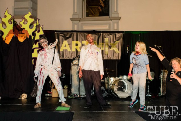 Artmix Zombie. Crocker Art Museum. Sacramento CA. Photo Mickey Morrow