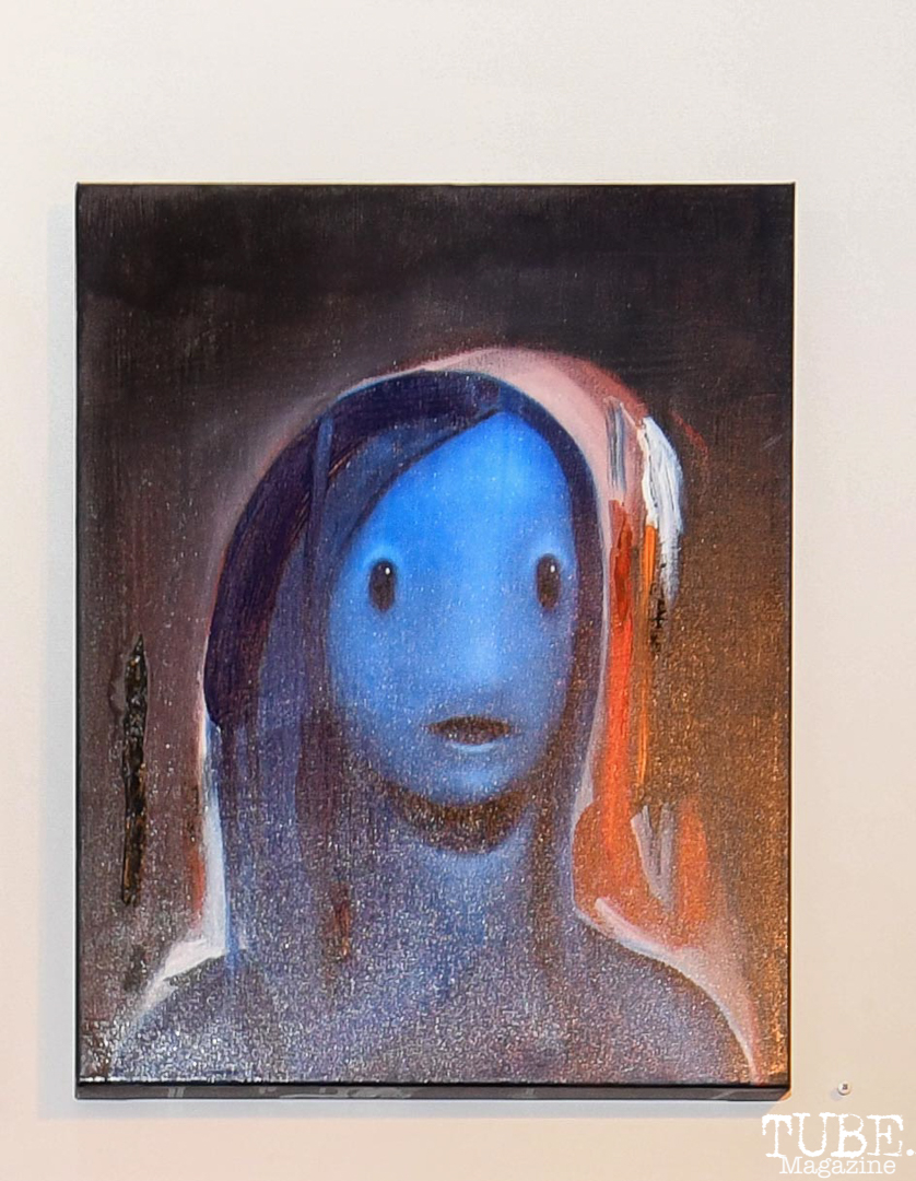 The work of Adam Wever-Glen,The Showcase, 1810 Gallery, Sacramento, CA , October 20, 2018, Photo by Daniel Tyree