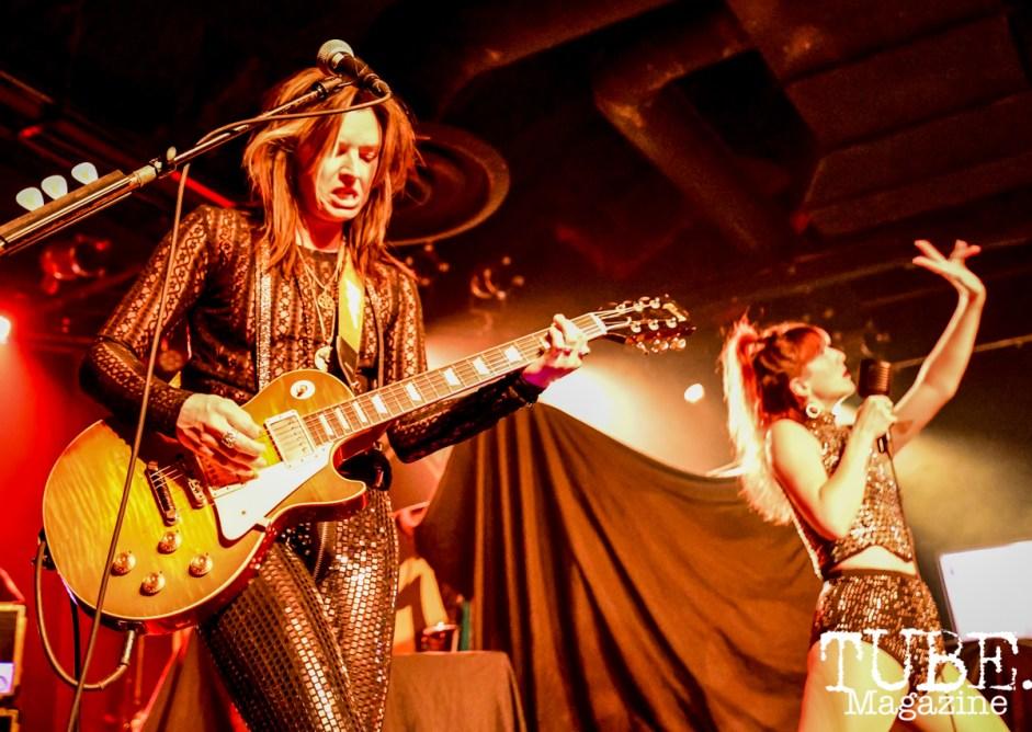 Thunderpussy, Ace of Spaces, Sacramento CA. Photo Daniel James
