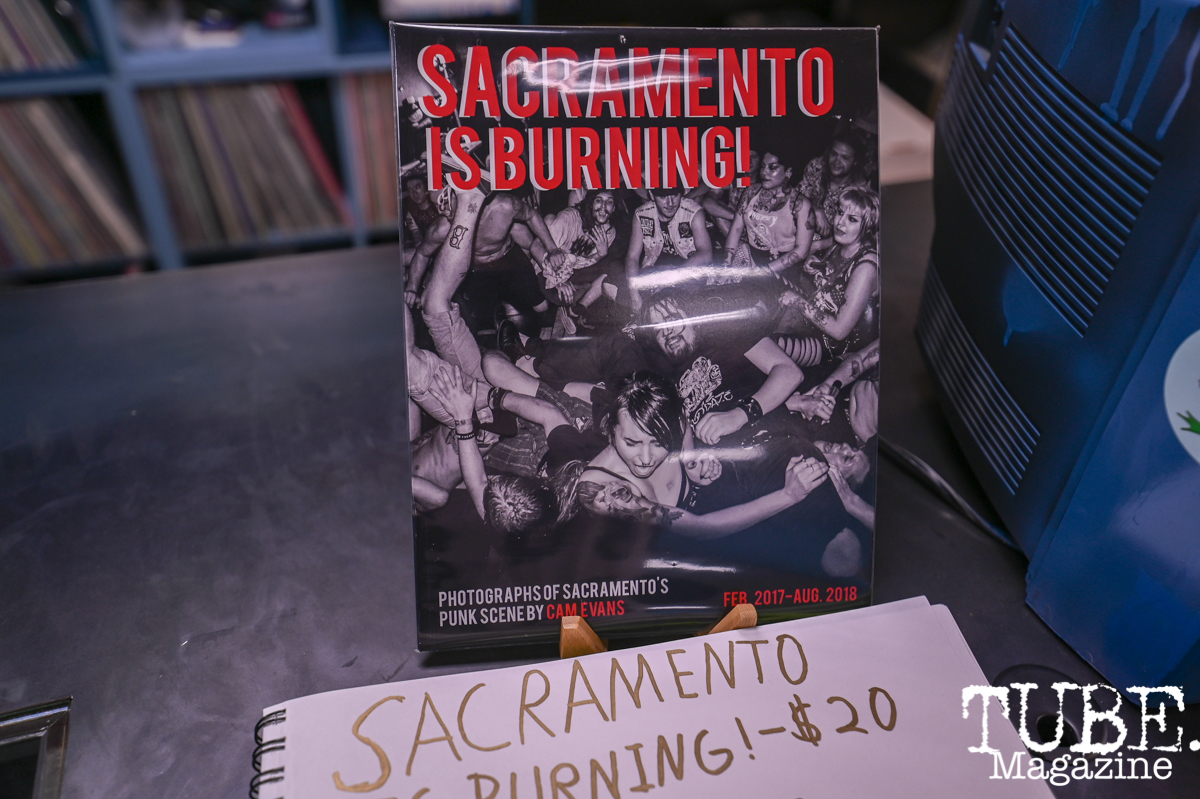 Sacramento is Burning Release Party, Phono Select Records, Sacramento CA. Photo Daniel James.