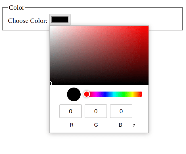 html 5 input color