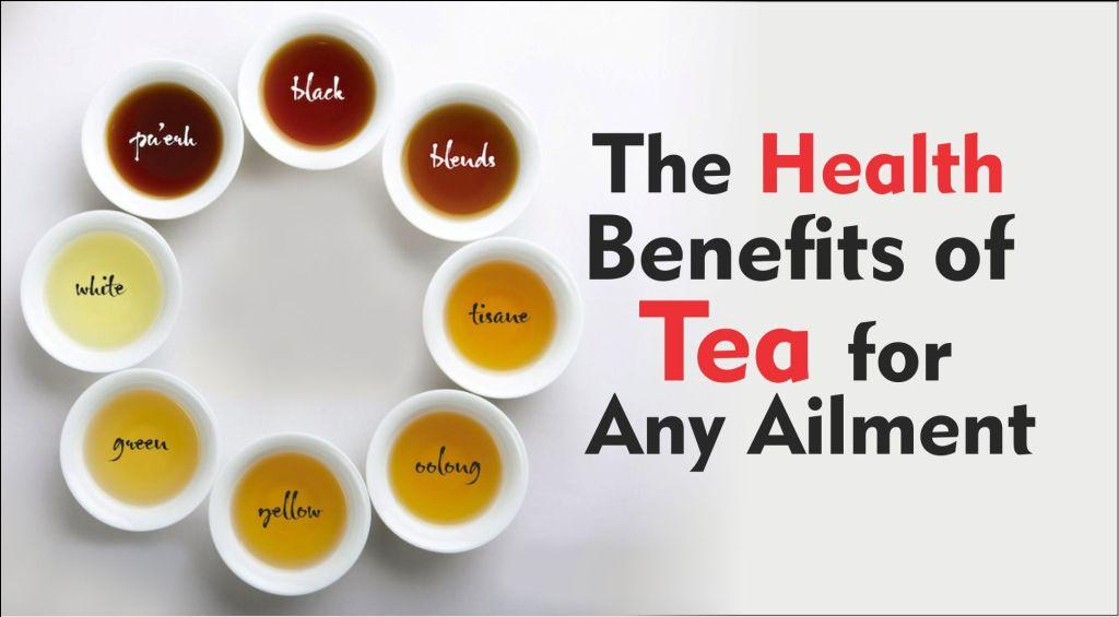 The Health Benefits of Tea for Any Ailment-tubertip.com