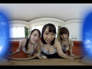 KVR-1707-46 Japanese Maids Want to Ride You in VR - Harem