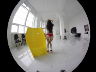 HD compilation of sexy solo european girls teasing in VR video