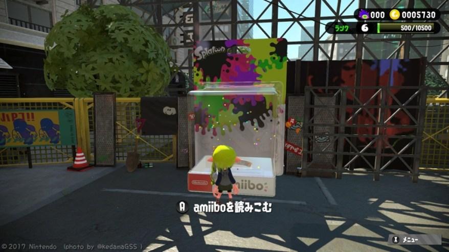 【スプラトゥーン2】これが撮りたくて始めました! -amiiboでツーショット-
