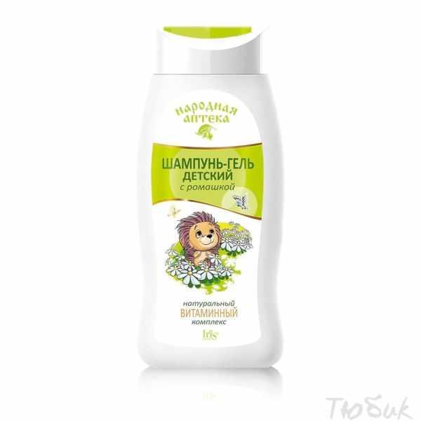 Шампунь-гель детский с ромашкой и натуральным витаминным комплексом Ирис