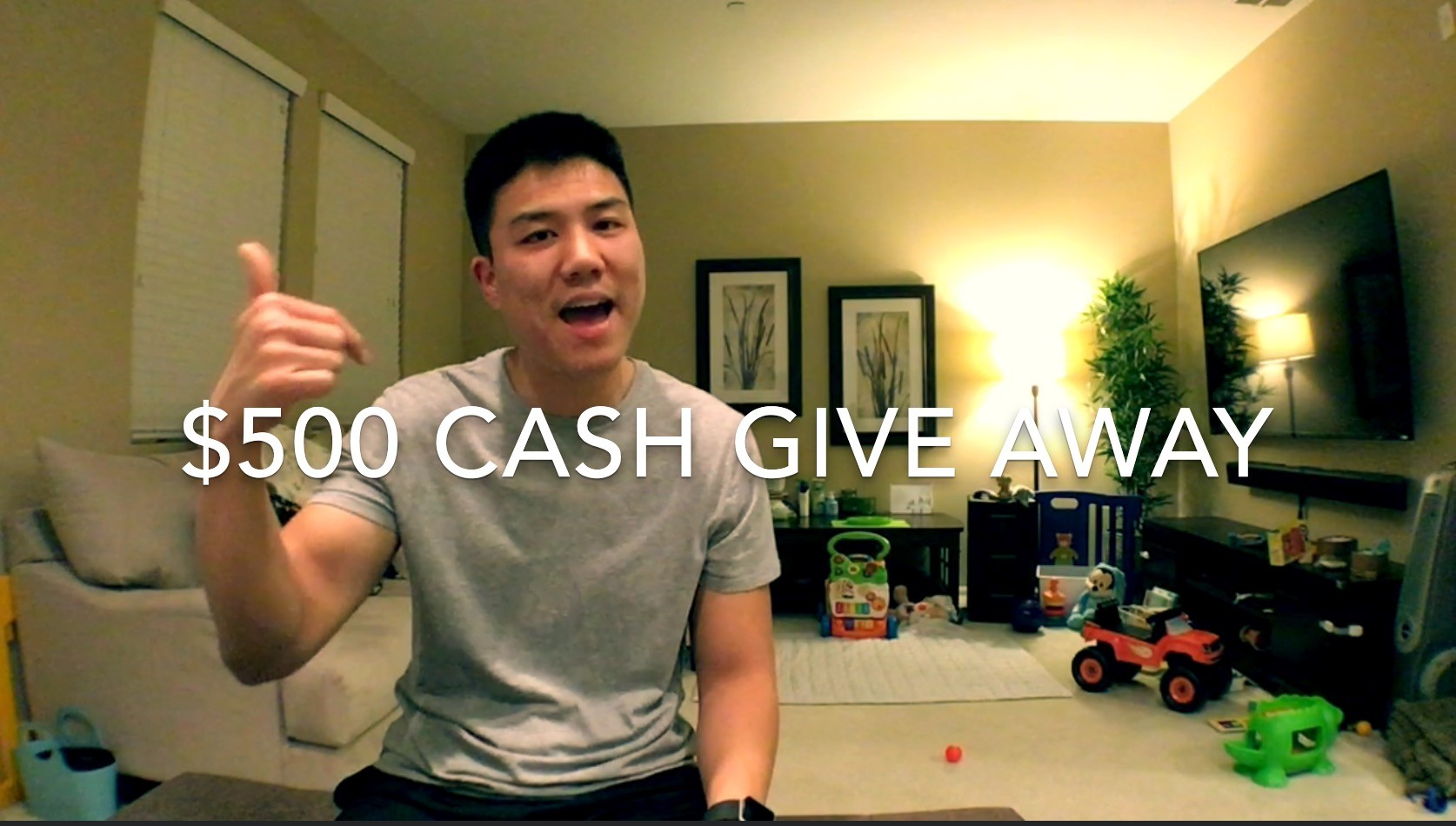 $500 Cash Give Away!! (UPDATE: Changed to 6/25 Sunday 10PM PST)