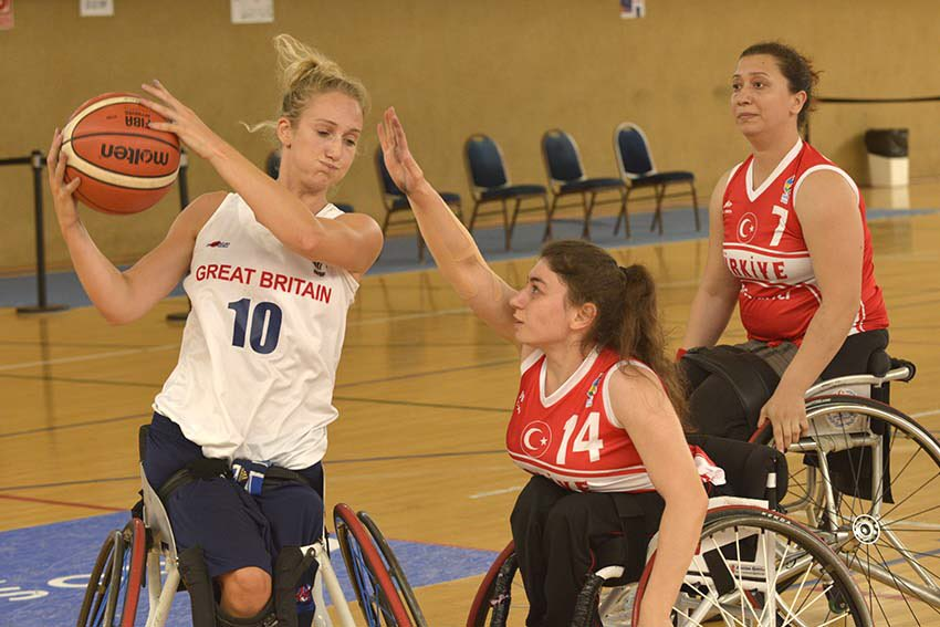 GB Women power to European Wheelchair Basketball Championship bronze