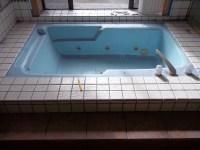 indoor jacuzzi tub before | Tub Pros Reglazing