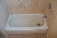 steel tub before | Tub Pros Reglazing
