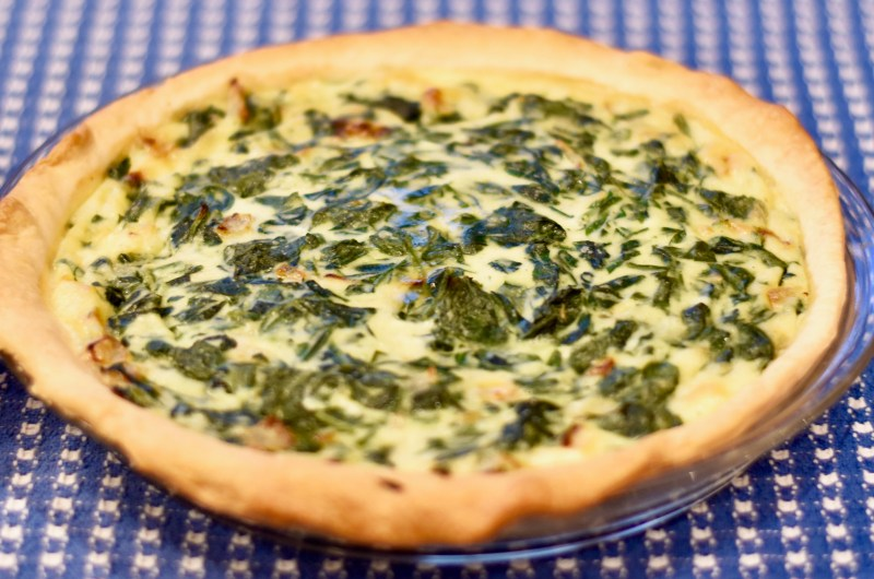 Omi's Spinach Pie