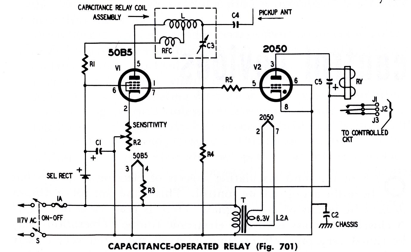 Build A Capacitance Operated Relay