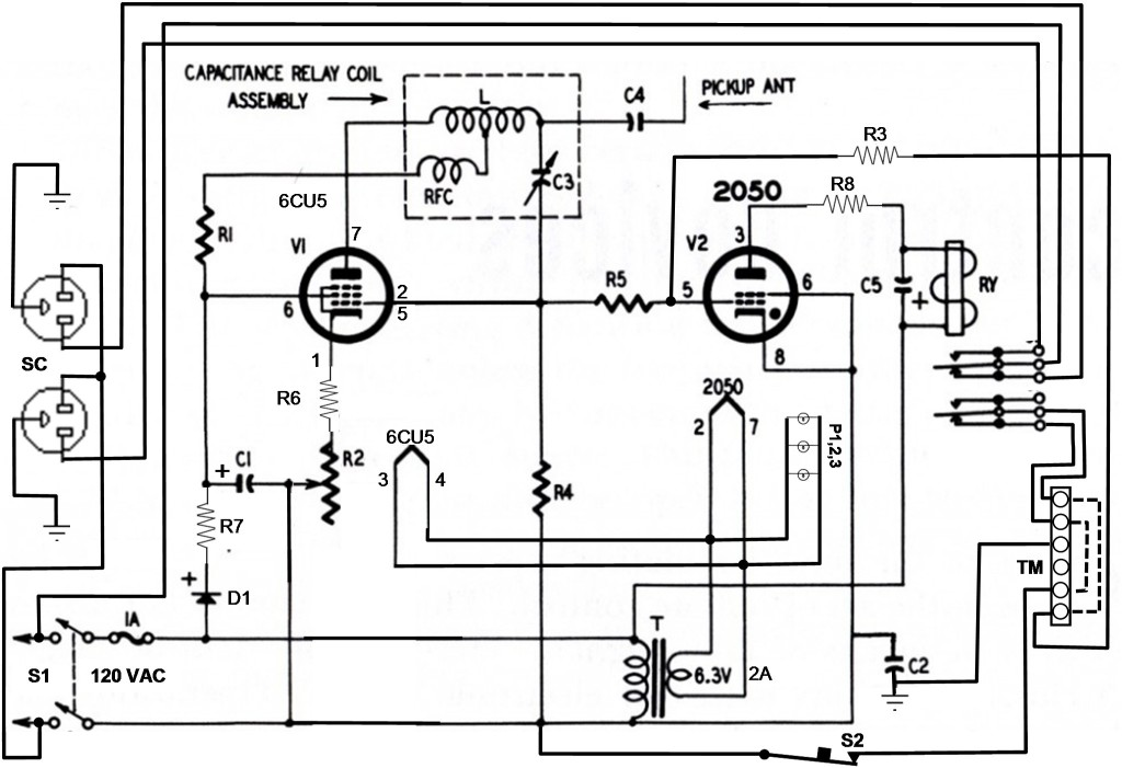 Build A Capacity Operated Relay With A Custom Made Coil