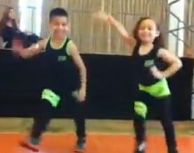 衝撃の速さ!子供とは思えないキレッキレの超速社交ダンス!