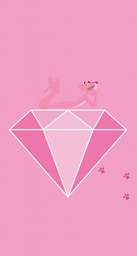 Pink Panther Wallpaper Iphone ピンクパンサー めちゃ人気 Iphone壁紙dj