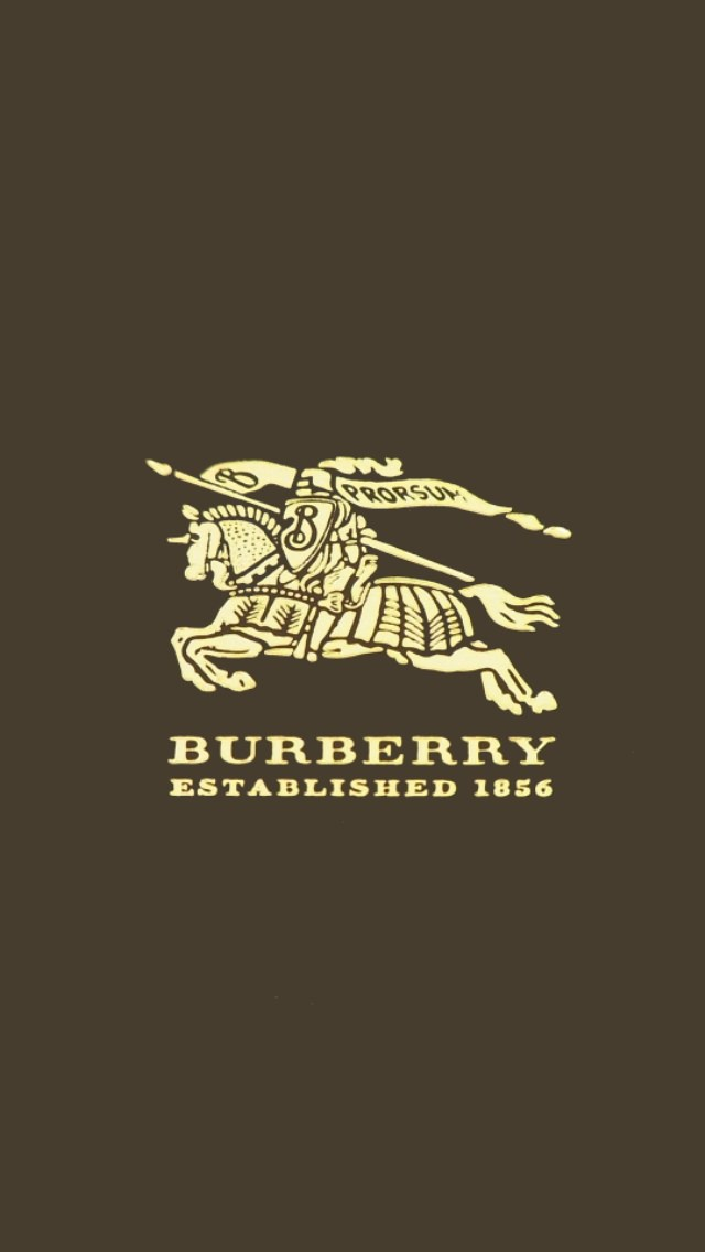 Burberry Iphone Wallpaper バーバリー ロゴ めちゃ人気 Iphone壁紙dj