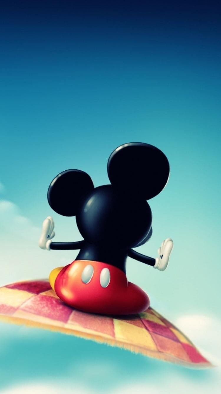 Mickey Wallpaper For Iphone ミッキーマウス Mickey Mouse 07 無料高画質iphone壁紙 めちゃ人気 Iphone壁紙dj