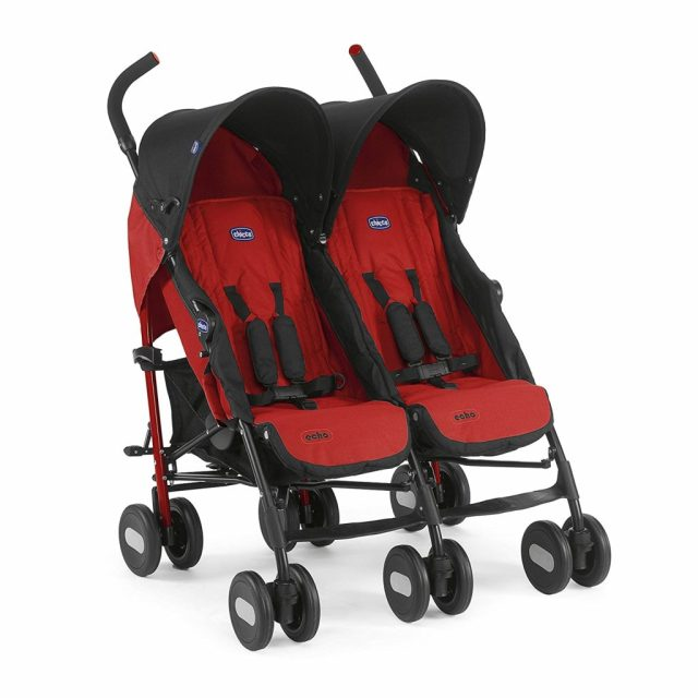 chicco echo twin rojo
