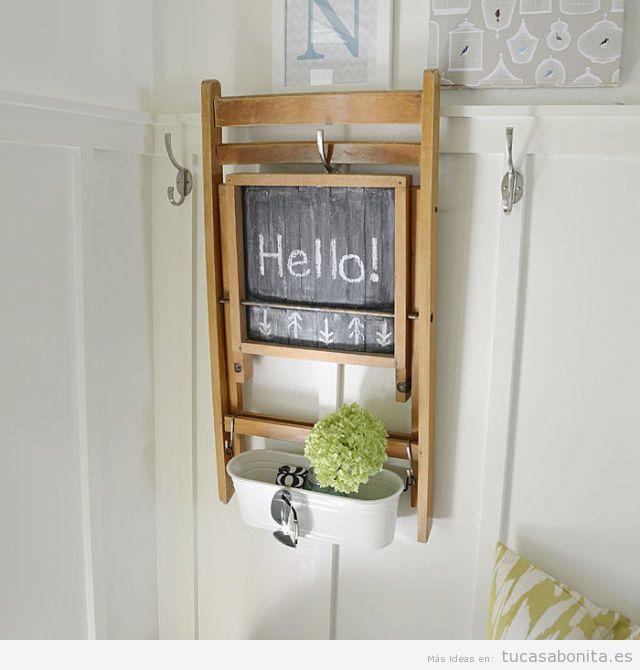 10 ideas para decorar la entada y el recibidor de tu casa