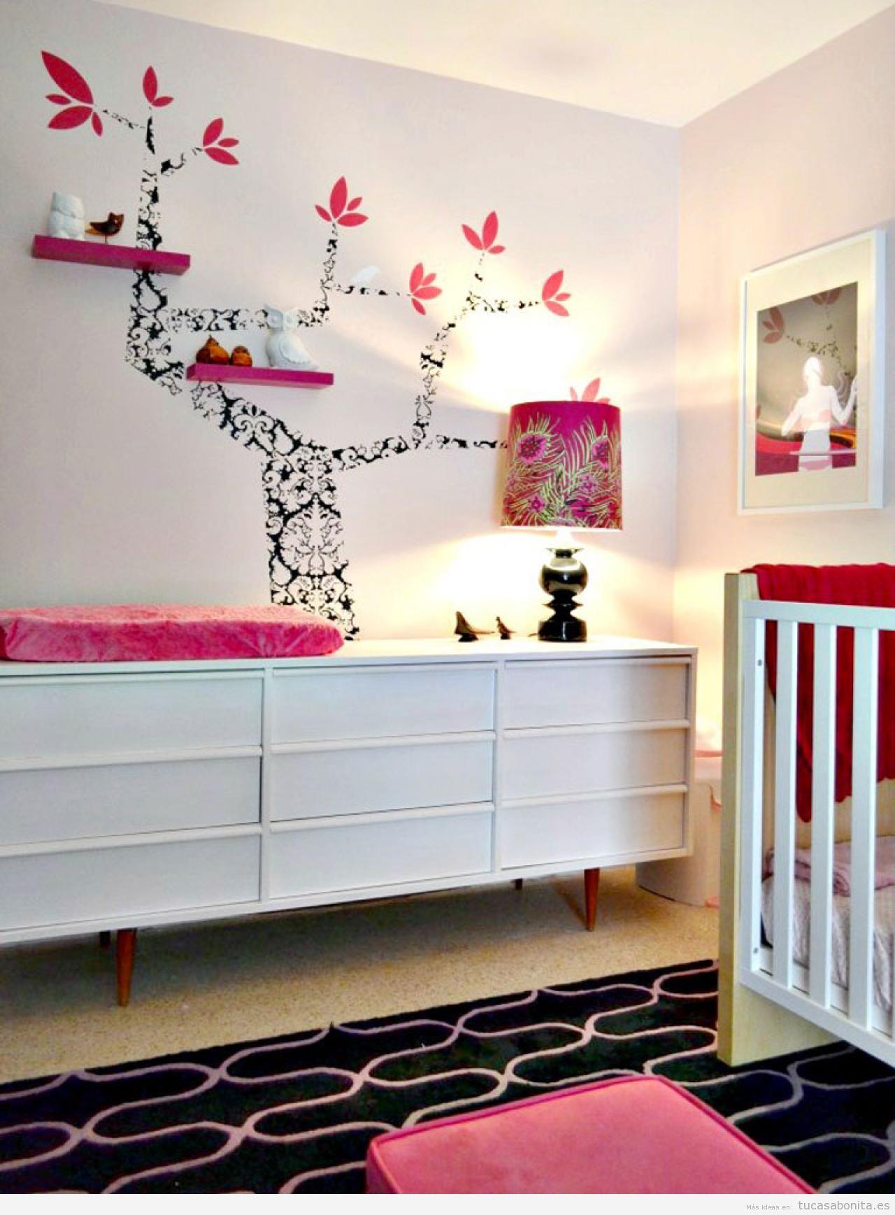 Ideas para decorar una habitacin de beb y de nio con