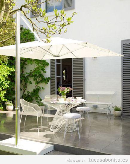 8 ideas para decorar terrazas jardines o patios  Tu casa