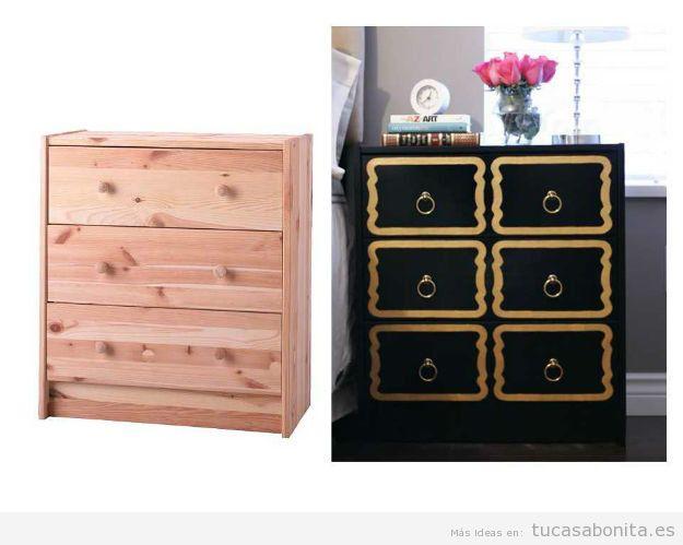 10 alucinantes ideas para modificar DIY muebles y