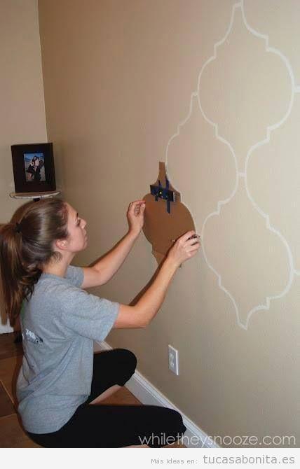 Ideas DIY y manualidades para pintar y decorar paredes