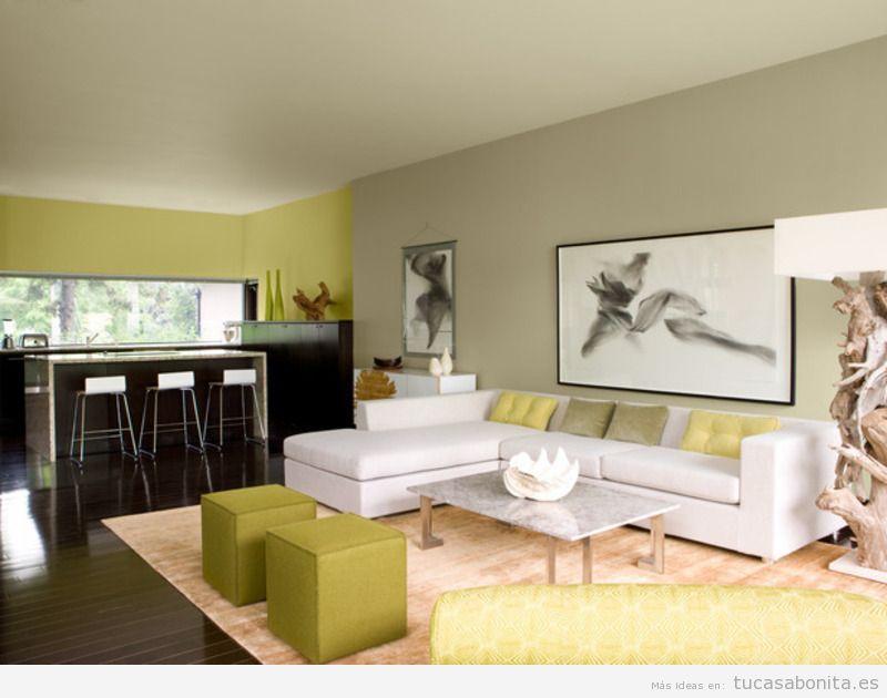 Distintos colores para pintar tu sala de estar y darle un toque diferente  Tu casa Bonita