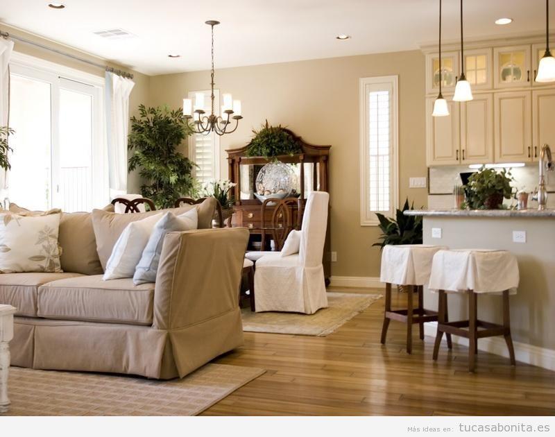 Distintos colores para pintar tu sala de estar y darle un