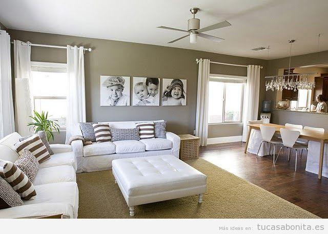 Paredes  Tu casa Bonita  Ideas para decorar pisos modernos
