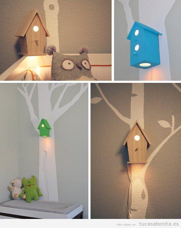 10 manualidades para decorar dormitorios infantiles  Tu