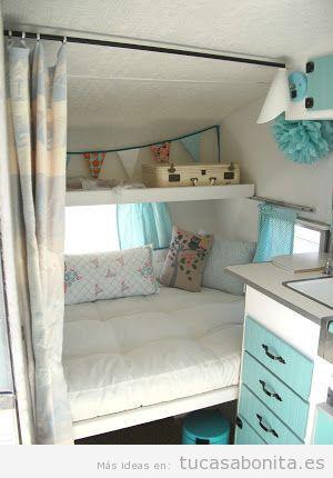 Ideas para decorar tu caravana o autocaravana estilo