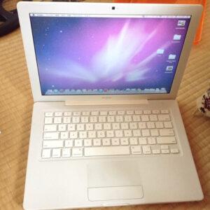 2008年のMacbook