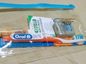 歯ブラシくれた♪
