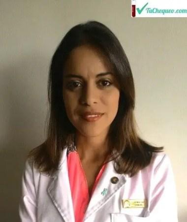 Licenciada en Bioanálisis María Gabriela Díaz Liendo