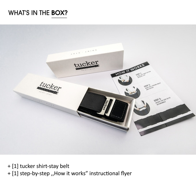 Tucker Shirt Stay box