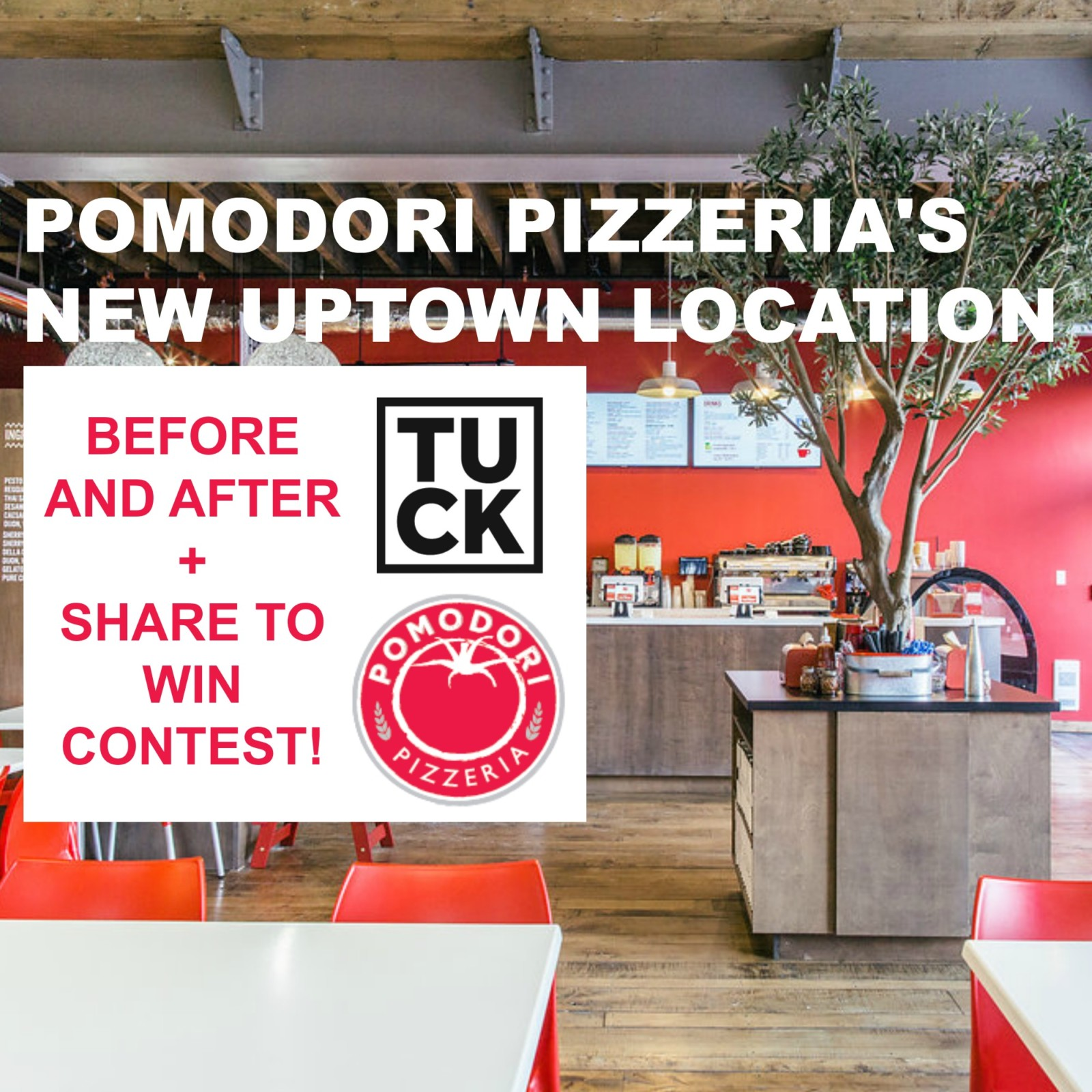 Pomodori Pizzeria Before After Title Image