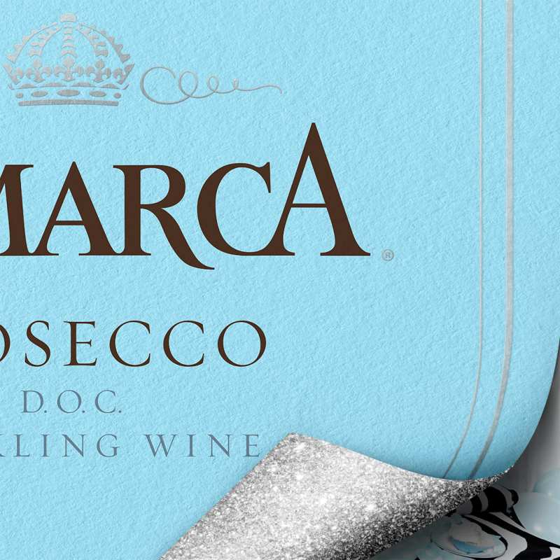 Cropping of Lamarca Label for Print Ads